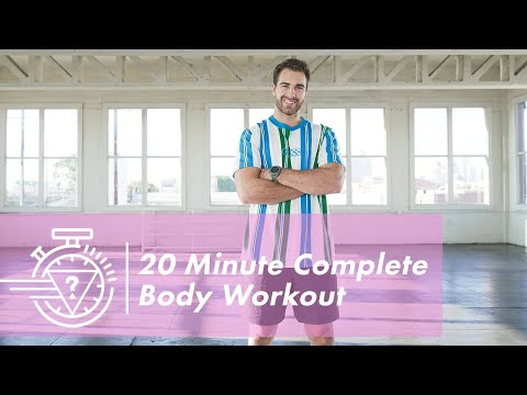 20 Minute Complete Body Workout with Nic Palladino