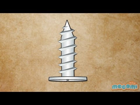 What is a Screw? - Simple Machines | Mocomi Kids