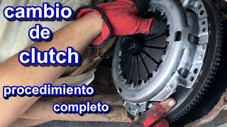 Como cambiar el clutch (video completo)