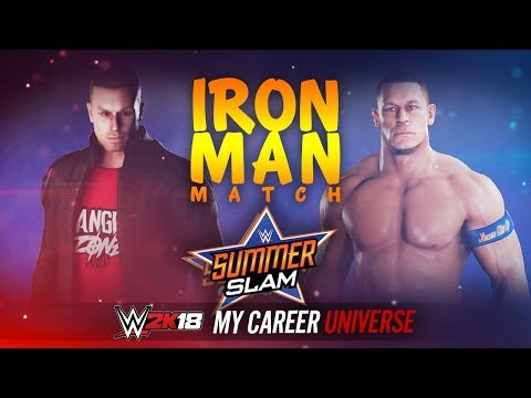 WWE 2K18 My Career Universe - Ep 11 - TITLE FOR TITLE!! IRON MAN MATCH!!