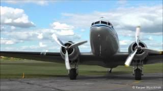 KLM Douglas DC-3 at Warsaw Babice Airport (EPBC)