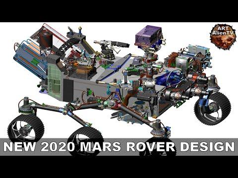 #NEW 2020 MARS ROVER DESIGN - Specifications & Speculations. ArtAlienTV - 1080p60