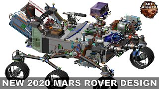 #NEW 2020 MARS ROVER DESIGN - Specifications & Speculations. ArtAlienTV - 1080p60