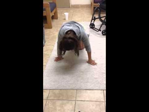 Paraplegic fall and transfer
