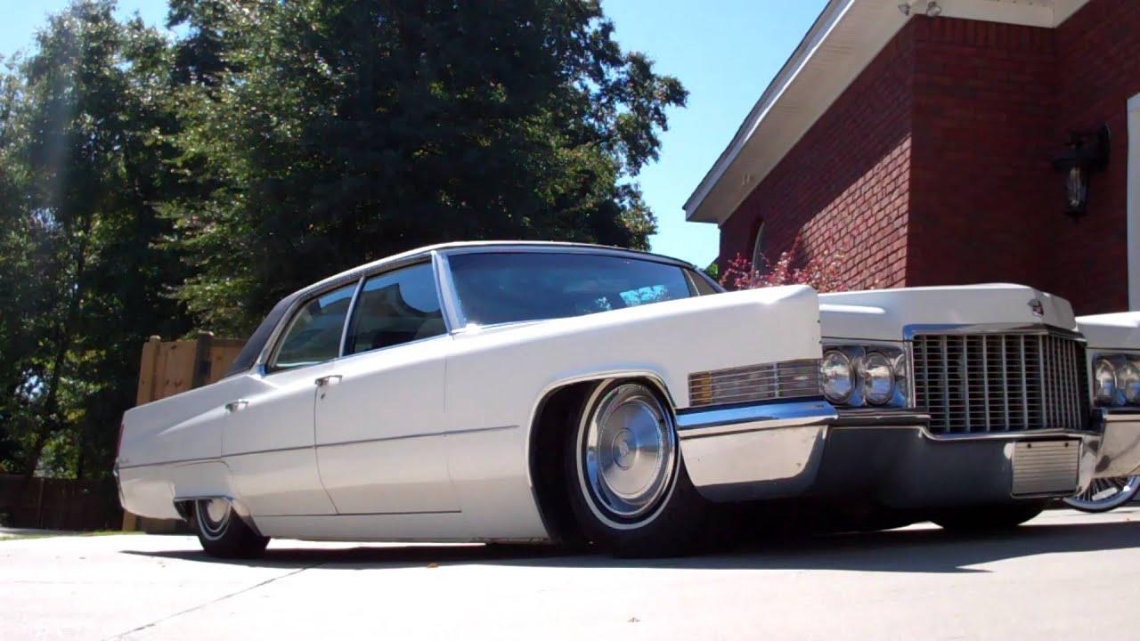 Bagged 1970 Cadillac Sedan Deville - YouTube