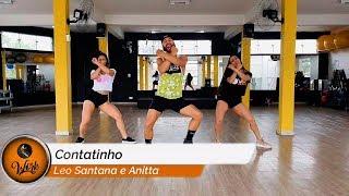Contatinho - Léo Santana e Anitta ll COREOGRAFIA WORK DANCE ll Aulas de dança