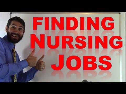 How to Find a Nursing Job as a New Nurse Graduate or Nurse