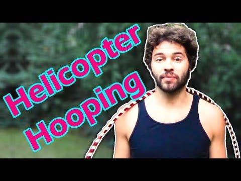 Beginner Hula Hoop Tricks: Helicopter Spins Hooping Tutorial