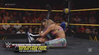 WWE NXT 3 07 2017   Liv Morgan & Aliyah vs Peyton Royce & Billie Kay