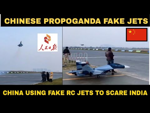China uses fake fighter jets to scare India | People's daily china| made in china