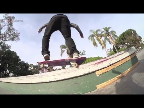 X games trick tips -- david reyes fakie 5-0
