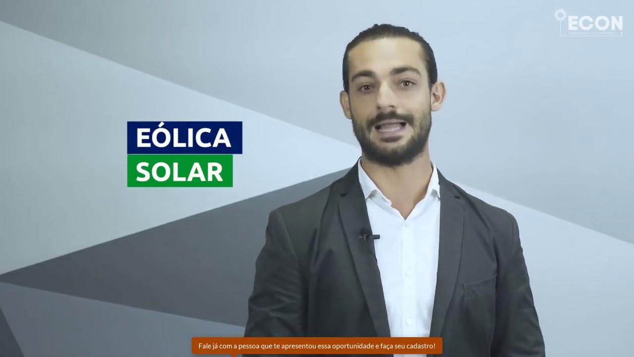 ECON ENERGIA SOLAR COMPARTILHADA GANHE DINHEIRO ADERINDO UM DOS PLANOS!