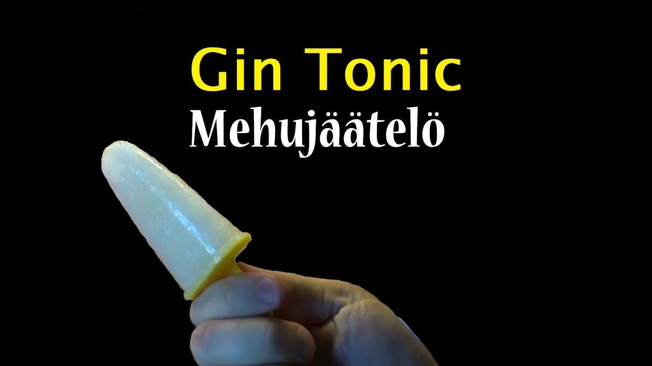 Hard Kokki: Gin tonic - mehujäätelö