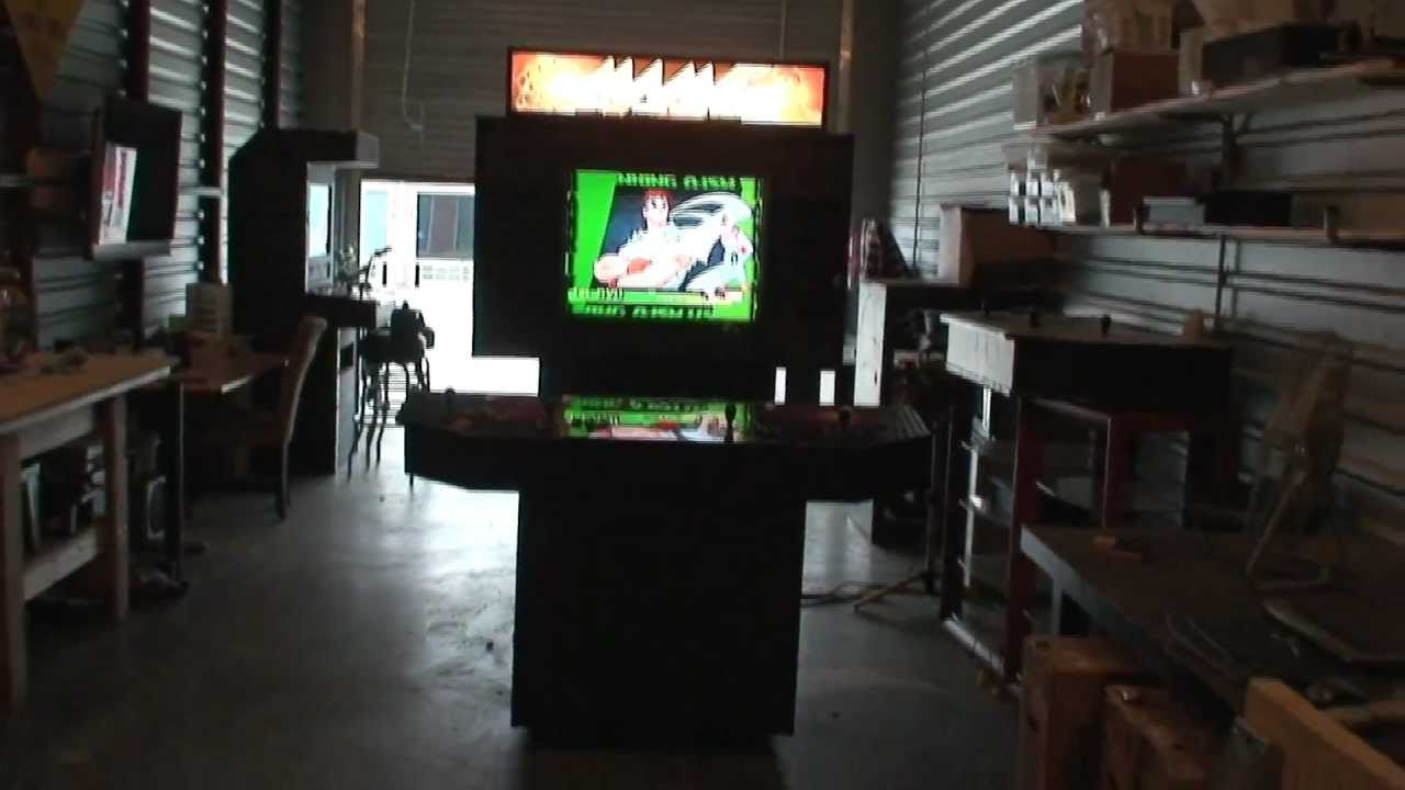 Arcade Cabinet For Sale Mame Xbox 360 Playstation 3 Or Nintendo Wii YouTube