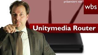 Darf Unitymedia eure Router für ein flächendeckendes WLAN-Netz nutzen? | RA Christian Solmecke