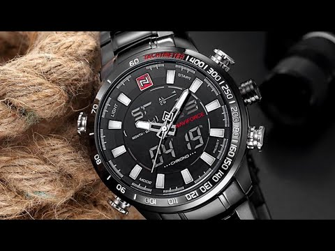 #NAVIFORCE Unboxing NAVIFORCE Luxury Brand Men Military Sport Watch