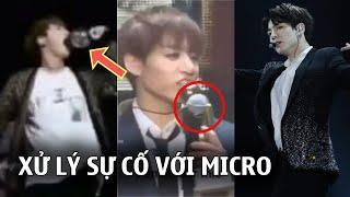 BTS và những sự cố micro: Người xử lý chuyên nghiệp, người hậu đậu