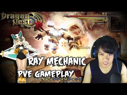 Dragon Nest – Ray Mechanic PVE gameplay – ArchBishop Nest (HC)