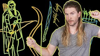 How Dense is Legolas in Lord of the Rings? (Because Science w/ Kyle Hill)