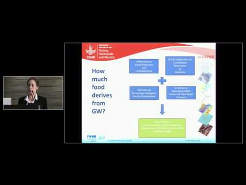 Karen Villholth - Contribution of Groundwater Use to Global Food Production