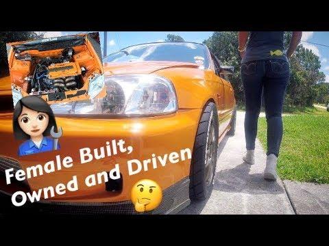 Female Built Turbocharged Honda Civic