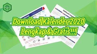 Gambar cover Download Kalender 2020 Lengkap dan Gratis