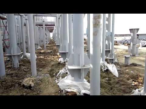 Видео отчет  моста через Керченский пролив в Крыму