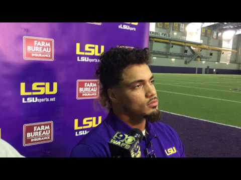 LSU LB Duke Riley: 'I never let that down talk get to me'