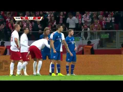 Polska 4-2 Islandia PL mecz towarzyski