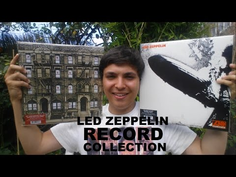 My Led Zeppelin Record Collection