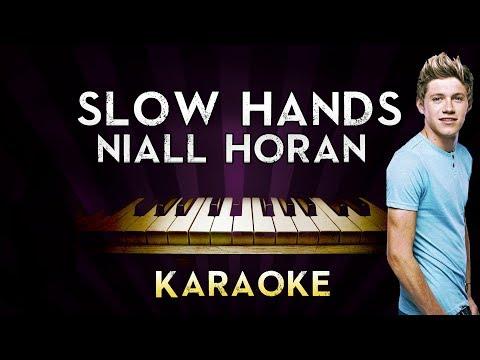 Niall Horan - Slow Hands | HIGHER Key Piano Guitar Karaoke Instrumental Lyrics Cover Sing Along