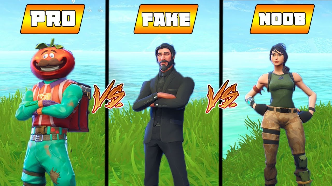 TOMATOHEAD vs JOHN WICK vs NOOB... 😂 (Fortnite Battle ...