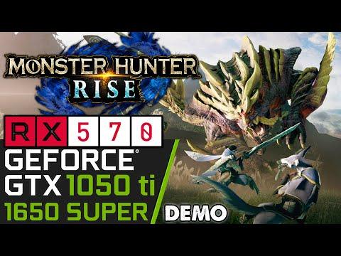 Monster Hunter Rise DEMO | GTX 1050 ti | RX 570 | 1650 SUPER