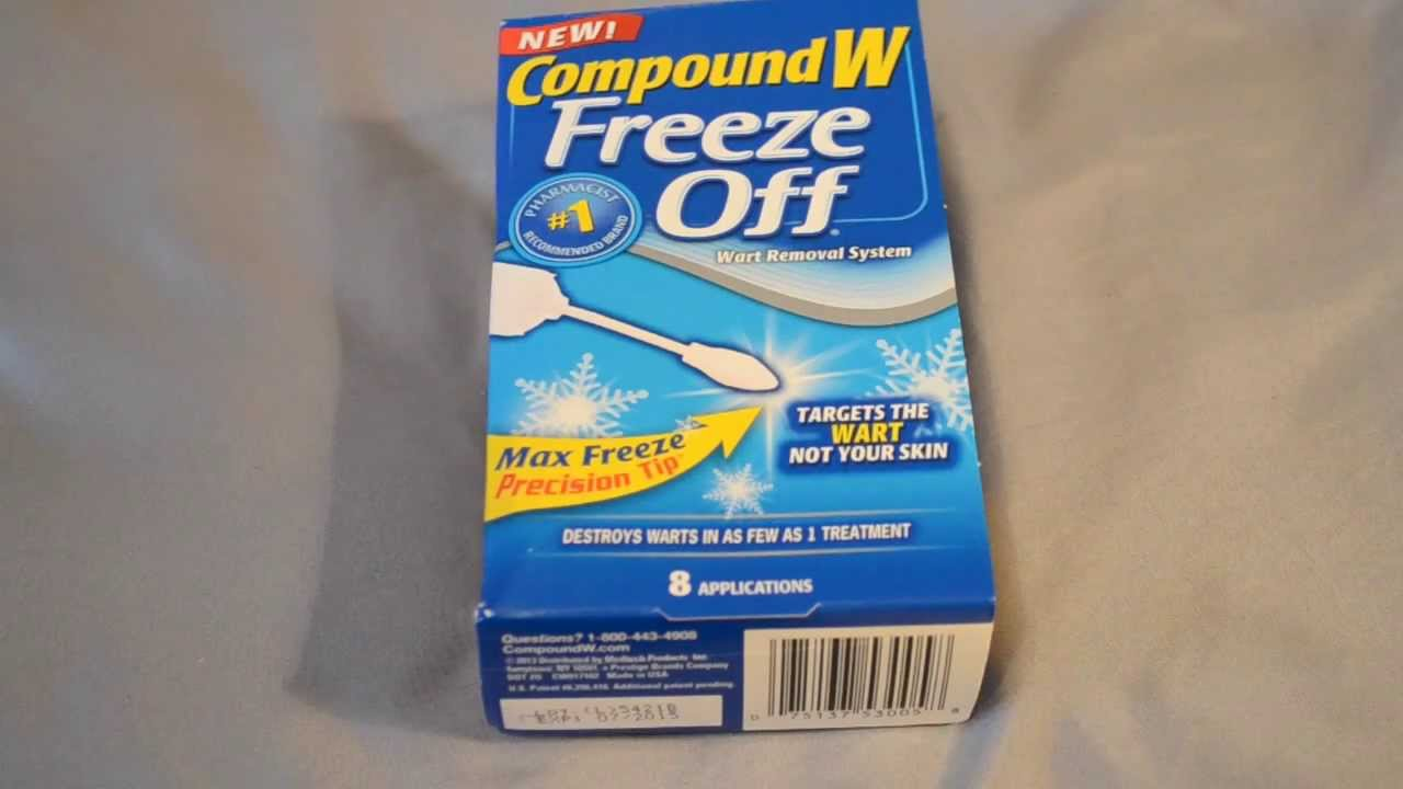 Compound W Freeze Off Wart Remover Review Youtube