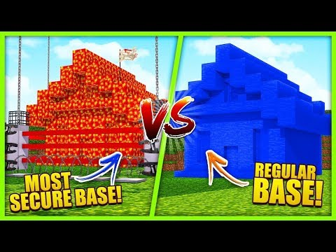 LAVA HOUSE VS WATER HOUSE - WHO'S BASE IS STRONGER!?