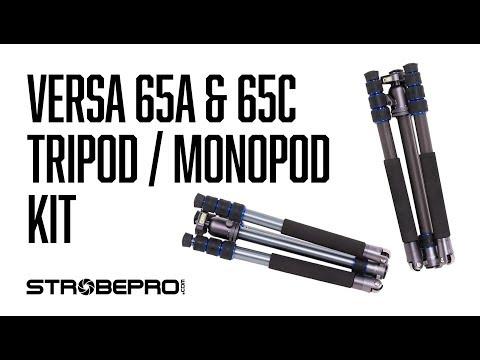 STROBEPRO VERSA 65A & 65C TRIPOD MONOPOD KIT