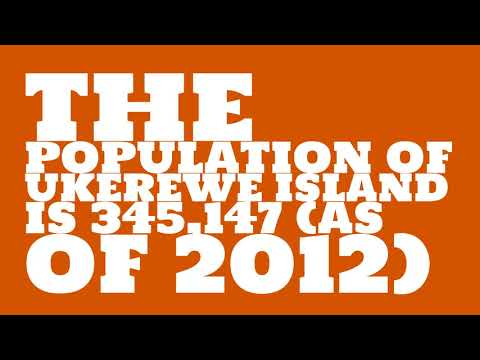 What is the population of Ukerewe Island?