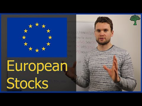 Investing in European Stocks [Stock market for beginners]