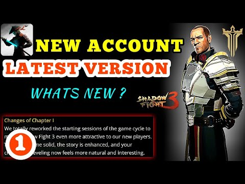Shadow Fight 3》testing changes of chapter 1 with brand new account