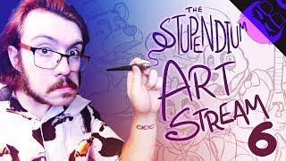 COLOURING CUTE KILLER CONTRAPTIONS - The Stupendium Art Stream 06!