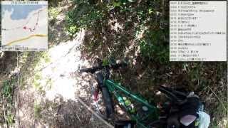 【自転車旅行】2012/05/05(土) part2 伊上駅~ワイルドな裏道~道端自炊