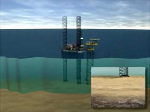Jack-up Drilling Rig, how does it work - Carlsen Bulk Handli