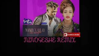 Nandy ft Aslay - NINOGESHE REMIX (Music Video)