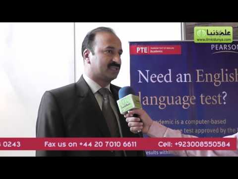 Pearson Test of English Academic PTE-A at 3rd International Education Expo at Lahore Expo Center