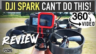 DJI SPARK CAN'T DO THIS! - iFlight MegaBee Vers 2 - Cinema Drone Review