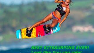 BEST kitesurfing EVER! Zobacz jak możesz pływać na najbardziej wszechstronnym latawcu  / WAKE.PL