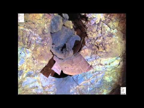 Can Palomeres: Les mines per dins
