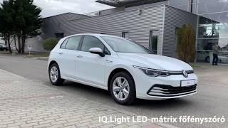 Volkswagen Golf bemutató