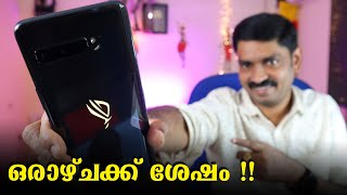 Asus ROG Phone 3 Full Review in Malayalam After 1 week