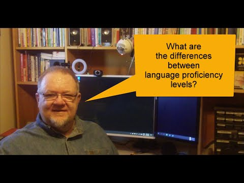 What are the differences between language proficiency levels?